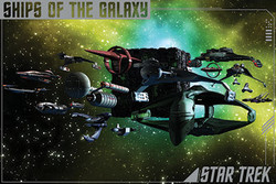 Image for Star Trek Poster - Ships of the Galaxy