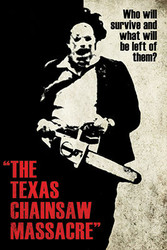 Image for Texas Chainsaw Massacre Poster - Silhouette