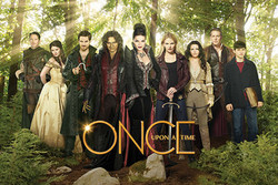 Image for Once Upon a Time Poster - Green Cast