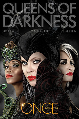 Image for Once Upon a Time Poster - Queens of Darkness