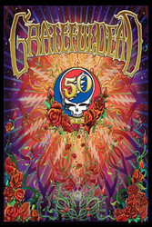 Image for Grateful Dead 50th Poster