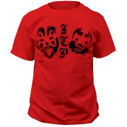 Image for Insane Clown Posse Clown Face Logos T-Shirt
