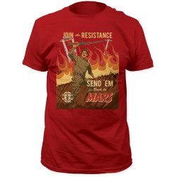 Image for Mars Attacks! Join the Resistance T-Shirt