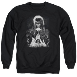Labyrinth Crewneck - Castle