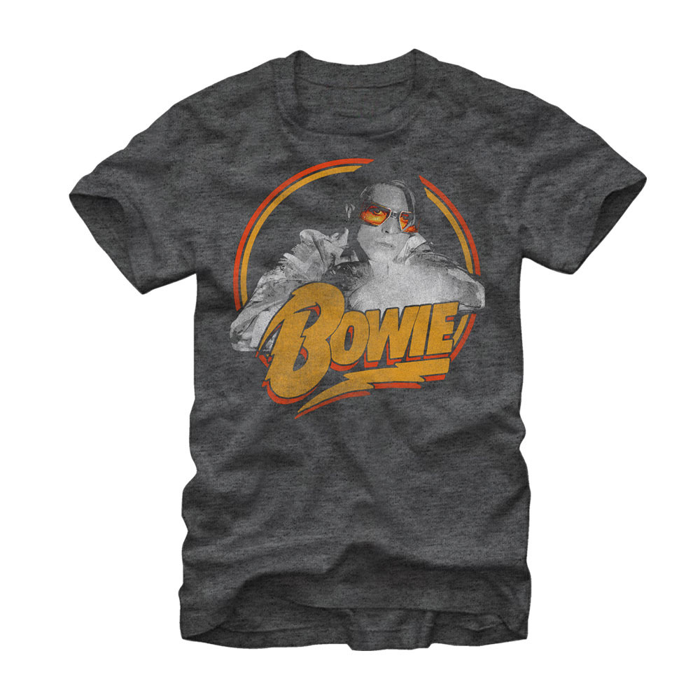 2ba49ef0882e David Bowie Spotlight T-Shirt - NerdKungFu