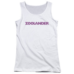 Image for Zoolander Girls Tank Top - Logo