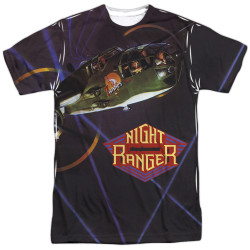 Image for Night Ranger Sublimated T-Shirt - 7 Wishes 100% Polyester