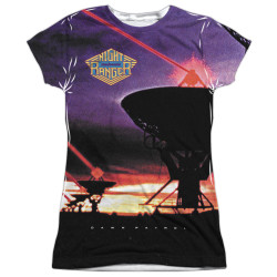 Image for Night Ranger Sublimated Girls T-Shirt - Dawn Patrol 100% Polyester