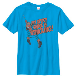 Image for Spider-Man Youth T-Shirt - Spidey Senses Tingling