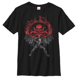 Image for Red Skull Youth T-Shirt - Hydra Recruits