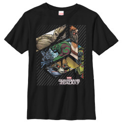 Image for Guardians of the Galaxy Youth T-Shirt - Slant Guardian