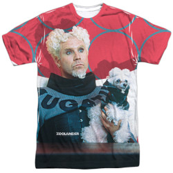 Image for Zoolander Sublimated T-Shirt - Mugatu 100% Polyester
