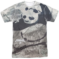 Image for Kung Fu Panda T-Shirt - Sublimated Brushed Panda