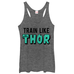 Image for Thor Womens Tank Top - Train Like Thor