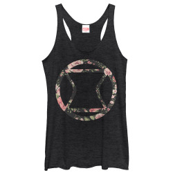 Image for Black Widow Womens Tank Top - Rose