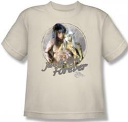 Image for The Dark Crystal Youth T-Shirt - Jen & Kira
