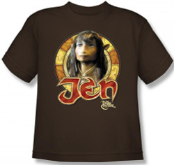 Image for The Dark Crystal Youth T-Shirt - Jen Circle