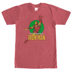 Image for Iron Man Floater T-Shirt