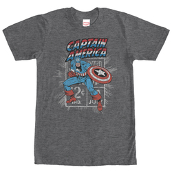 Image for Captain America Stamp T-Shirt