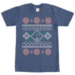 Image for Captain America Sweater T-Shirt