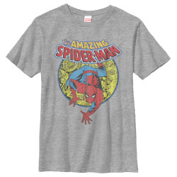 Image for Spider-Man Youth T-Shirt - Urban Hero