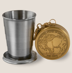 Image for Buffalo Nickel Portable Shot Glass