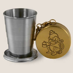 Image for Drunk Monkey Portable Shot Glass