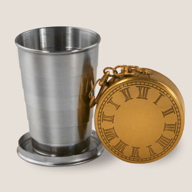 Image for Time to Drink Portable Shot Glass