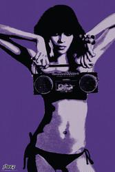 Image for Steez Poster - Bikini Boombox