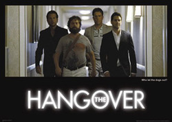 Image for Hangover Poster - Who Let the Dogs Out