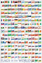 Image for Flags of the World Poster