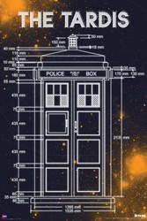 Image for Doctor Who Poster -Tardis Measurements