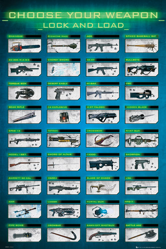 Image for Choose Your Weapons Poster