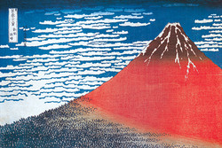 Image for Hokusai Poster - Mount Fuji