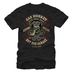 Image for Gas Monkey Garage Blood Sweat & Beers T-Shirt