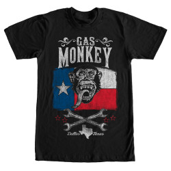 Image for Gas Monkey Garage Lone Star T-Shirt
