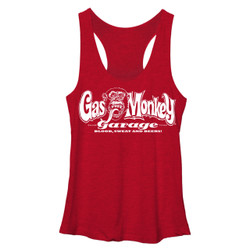 Image for Gas Monkey Garage Womens Tank Top - Blood Sweat n Beers