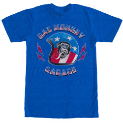 Image for Gas Monkey Garage Stars and Stripes Helmet T-Shirt