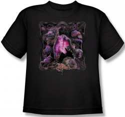 Image for The Dark Crystal Youth T-Shirt - Skeksis Lust for Power