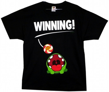 Image for Cut the Rope Winning T-Shirt