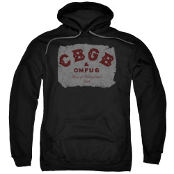 Image for CBGB Hoodie - Crumbled Logo