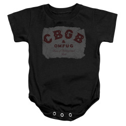 Image for CBGB Baby Creeper - Crumbled Logo