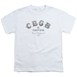 Image for CBGB Youth T-Shirt - Club Logo