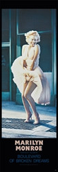 Image for Marilyn Monroe Poster - Boulevard of Broken Dreams Door