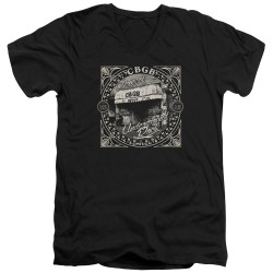 Image for CBGB V Neck T-Shirt - Front Door
