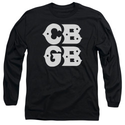 Image for CBGB Long Sleeve Shirt - Stacked Logo