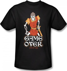 Image Closeup for Dragon's Lair Game Over T-Shirt