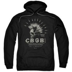 Image for CBGB Hoodie - Electric Skull
