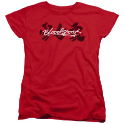 Image for Bloodsport Womans T-Shirt - Kanji