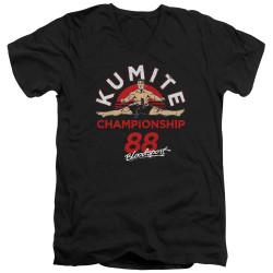 Image for Bloodsport V Neck T-Shirt - Championship 88